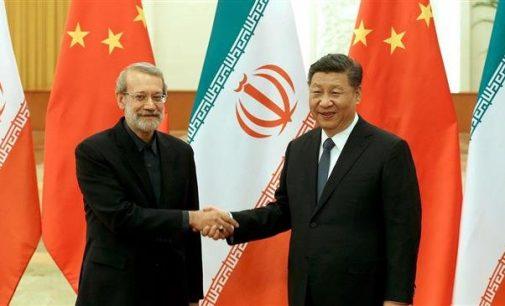 China says will boost 'strategic' partnership with Iran regardless of global developments