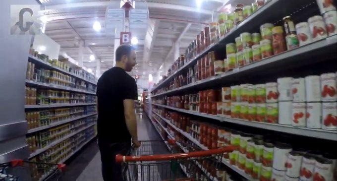 Investigating Venezuela's 'Humanitarian Crisis': Max Blumenthal Tours a Supermarket in Caracas