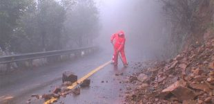 Heavy rainfall batters east China