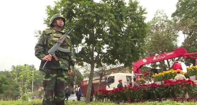 Security tightened at Vietnam station ahead of Trump-Kim summit