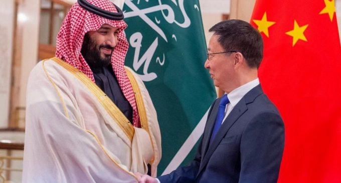 Saudi Arabia supports China against the jihadists