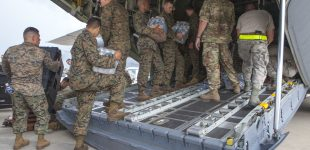 Special US Forces arrive in the Caribbean