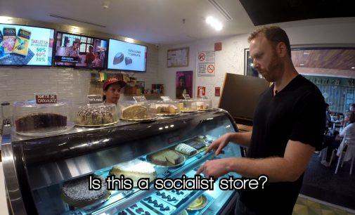 Max Blumenthal Searches for Communist Dictatorship at Venezuelan Luxury Mall