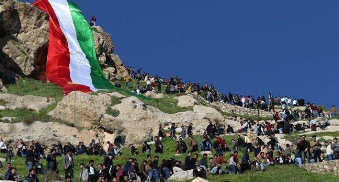Iraqi Kurds celebrate Nowruz