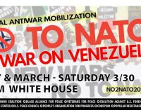 March 30: No to NATO, Racism, & War! U.S. Hands off Venezuela!