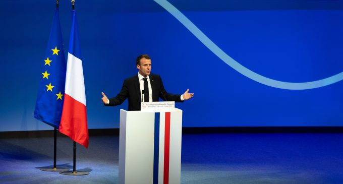 """For European renewal"", by Emmanuel Macron"