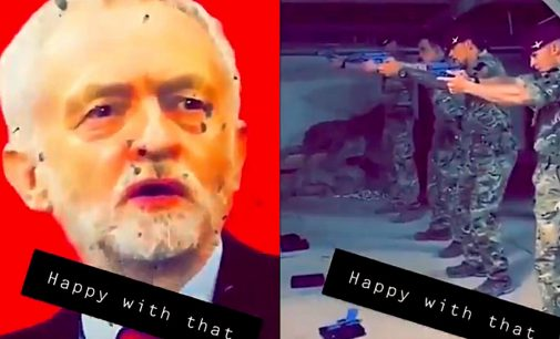 How the Media Paved the Way for Corbyn Target Practice