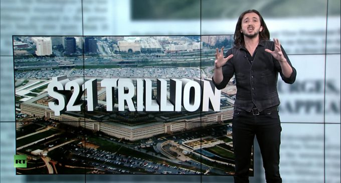 Lee Camp: With $21 Trillion Unaccounted For, Pentagon Whistleblowers Please Form a Line