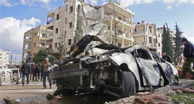Russia warns of false flag chemical attack in Syria's Idlib