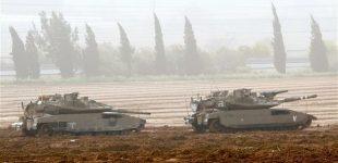 Israeli tanks, aircraft target Hamas positions in Gaza Strip