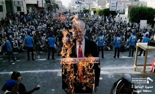 Yemen Protests Trump Veto of Congressional Resolution to Stop Supporting Saudi War