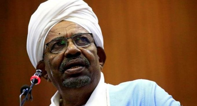 Sudan's ousted president investigated on suspicion of money laundering
