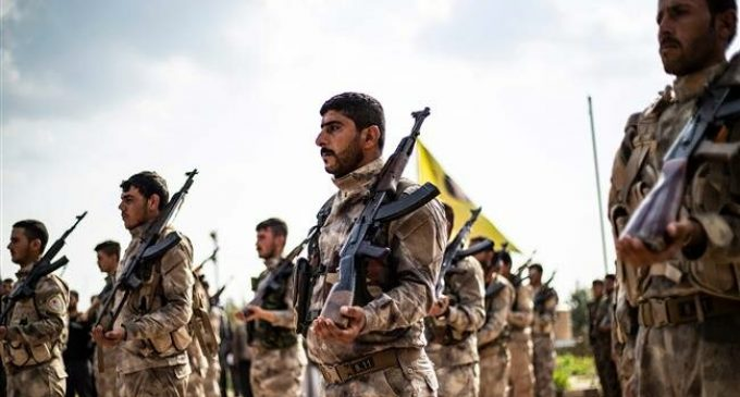 US-backed SDF militants open fire on protesters in Syria's Dayr al-Zawr