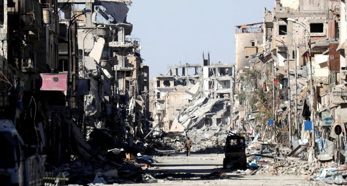 US-Led Bombing Campaign in Syria Killed 1,600 Civilians and Left Raqqa 'Most Destroyed City in Modern Times'