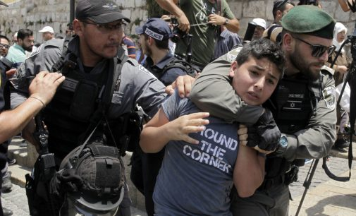 50,000 Palestinian Children Imprisoned by Israeli Kangaroo Courts Since 1967
