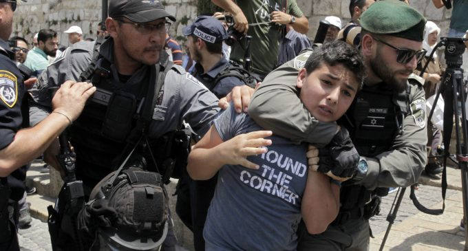 50,000 Palestinian Children Imprisoned by Israeli Kangaroo Courts Since 1967