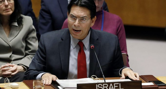 Iran launched a Shahab-3 ballistic missile, by Danny Danon