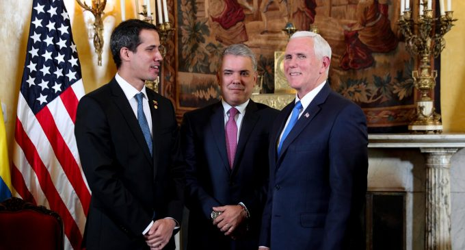 """Mike Pence Confirms: """"We Are With"""" the Coup Plotters in Venezuela"""