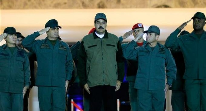 Maduro lashes out at US's Pence for encouraging defections