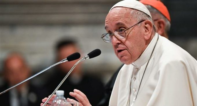 Pope mandates sex abuse report to church, not police