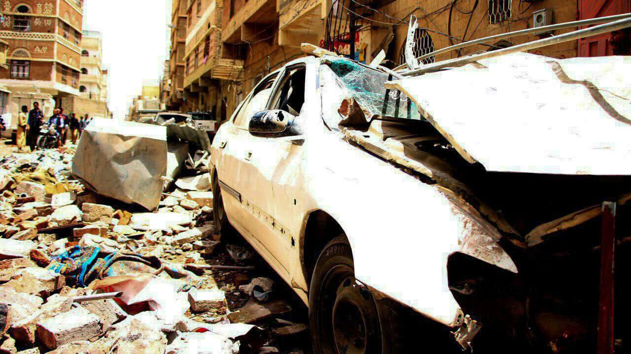 77 Civilians Killed or Wounded in Sana'a as Saudi Airstrikes Target Yemeni Capital