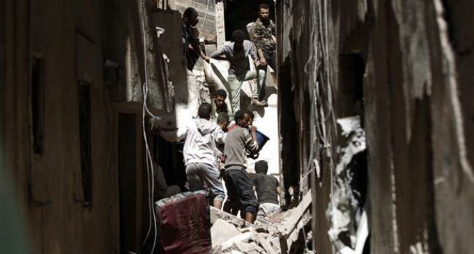 Saudi Arabia launches deadly airstrike on Yemeni capital