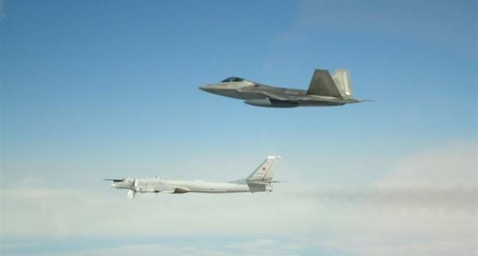 US fighter jets intercept Russian warplanes off Alaska