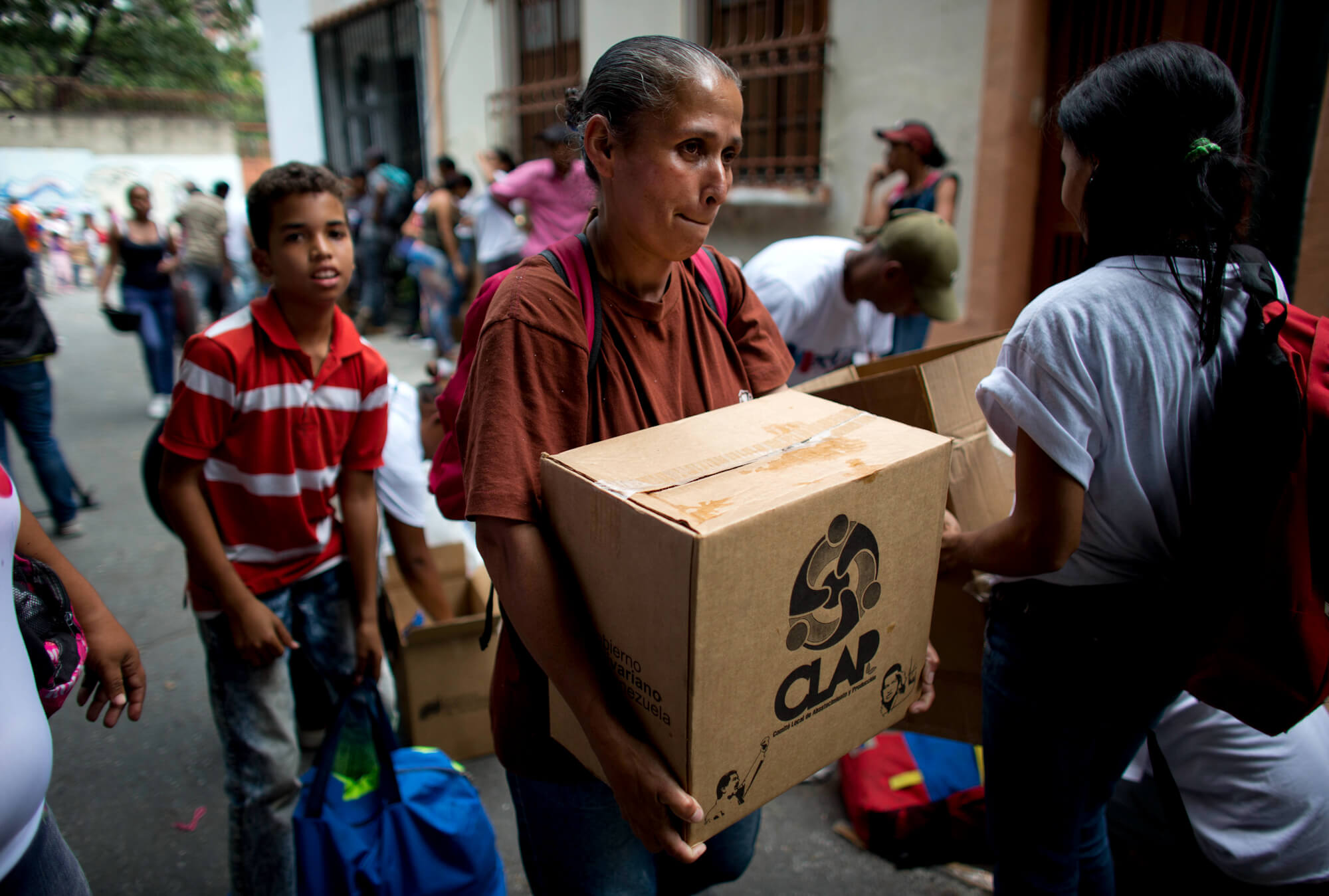 US Economic War on Venezuela Targets CLAP Food Program Relied on by Millions