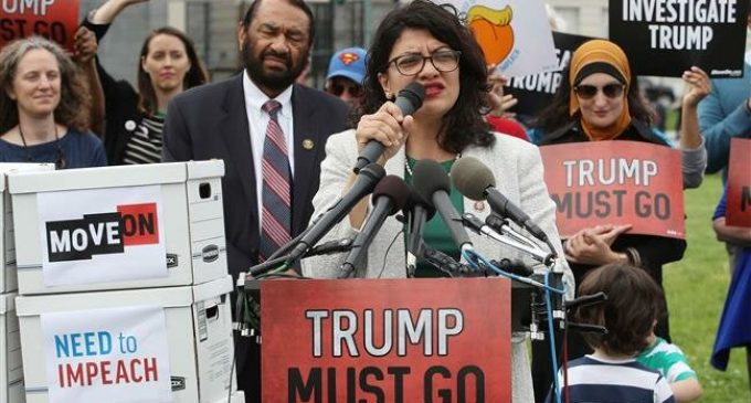 US House 'moving toward' Trump impeachment, Tlaib says