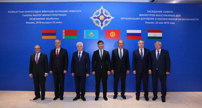 The CSTO' open address to the NATO on promoting mutual trust and co-operation