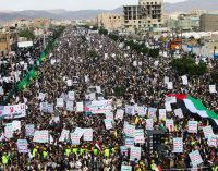"Mass Demonstrations Against Saudi Summit and US ""Deal"" Mark Quds Day in Yemen"