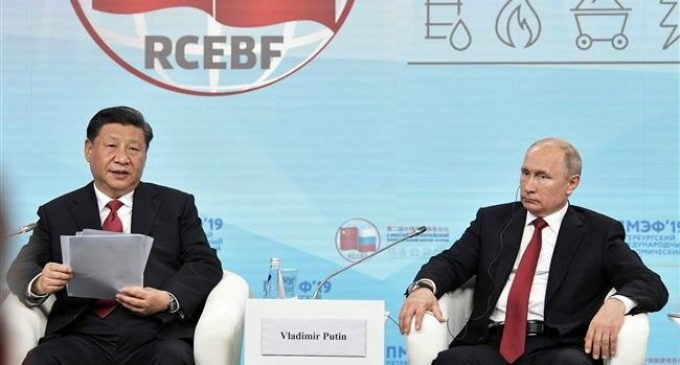 Russia, China unite against US economic brinkmanship