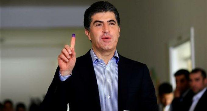 Nechirvan Barzani was sworn in as new president of Iraq's Kurdistan region