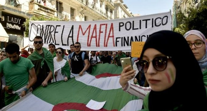 Algerian students protest for 16th consecutive Tuesday