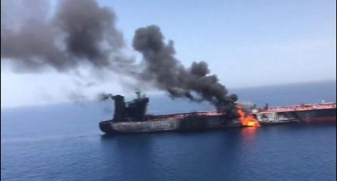 Pompeo Gulf of Oman Narrative Torpedoed by Vessel's Japanese Owner