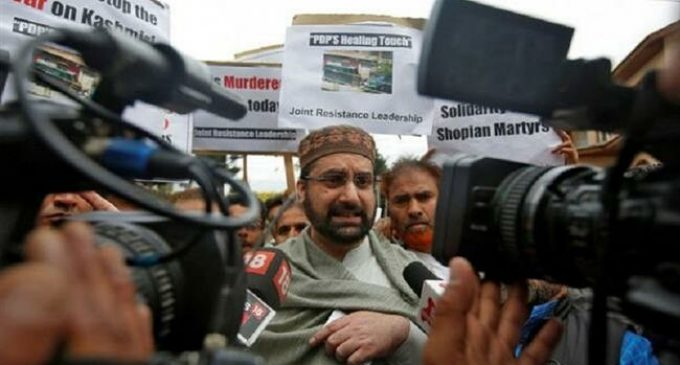 India says Kashmir separatists ready for talks