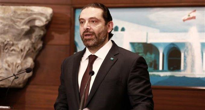 Lebanese govt., people against Trump's 'deal of century,' Hariri says