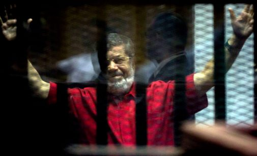 Morsi Died, or Was Murdered, While Reciting a Patriotic Poem in a Cage