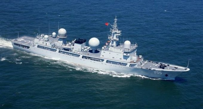 Australia says Chinese warship 'collect information' on US-Ausralia drills