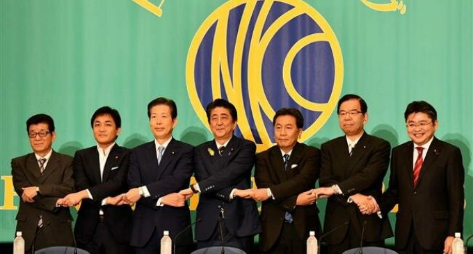 Japan PM Abe's ruling bloc set to win upper house majority