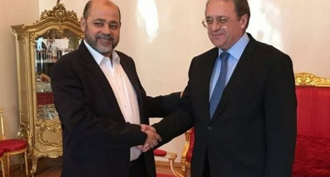 Russia, Hamas hold talks in Moscow, stress intra-Palestinian unity