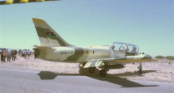 Libya warplane of Haftar's forces lands in Tunisia