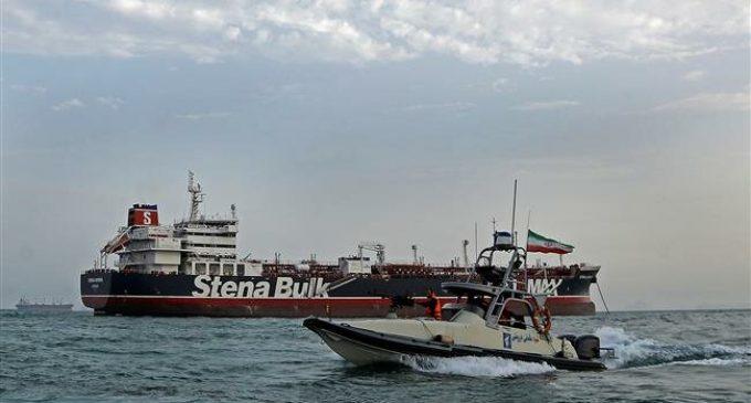 Iran seizes British oil tanker in Strait of Hormuz
