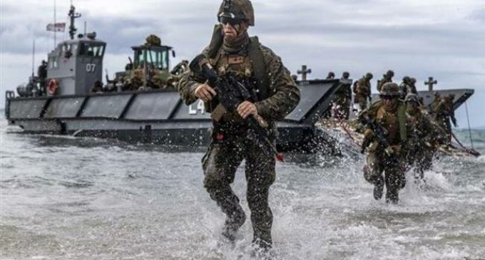 US, Japanese, Aussie forces conduct naval war games aimed at China