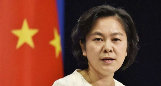 China blames escalation of Mideast tensions on US pressure policy