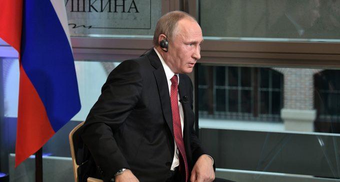 Vladimir Putin's interview at Corriere della Sera, by Vladimir Putin