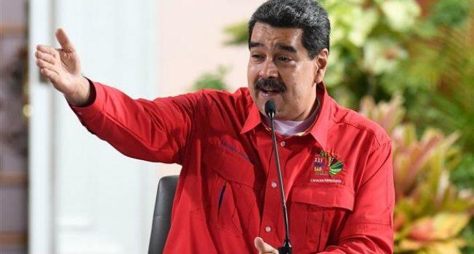 Venezuelan President decries Trump's economic blockade threat