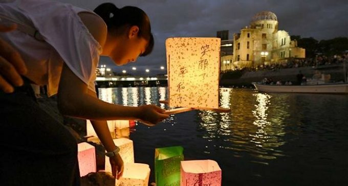 Japan: Floating lantern ceremony honors Hiroshima victims