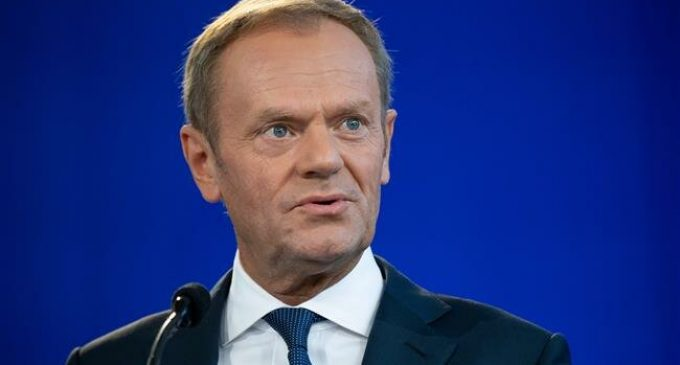 EU's Tusk rejects British PM Johnson's backstop proposal