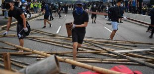 Protesters, riot police clash amid renewed tensions in Hong Kong